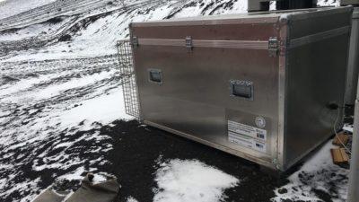 Enviamos un prototipo de fachada activa sostenible a la Antártida